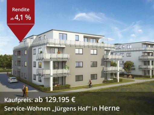 """Service-Wohnen """"Jürgens Hof"""" in Herne"""