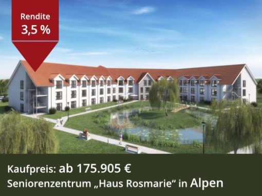 Seniorenzentrum Haus Rosmarie in Alpen