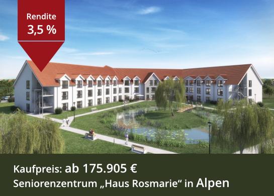 Seniorenzentrum Haus Rosmarie in Alpen